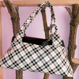 sac à main city zip zip tartan
